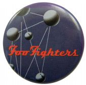 Foo Fighters - 'The Colour and the Shape' Button Badge